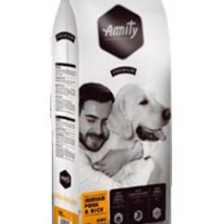 AMITY premium dog IBERIAN pork/rice - 3kg