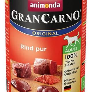 ANIMONDA dog konzerva Gran Carno čisté hovädzie - 400g