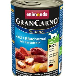 ANIMONDA dog konzerva Gran Carno údený úhor / zemiaky - 800g