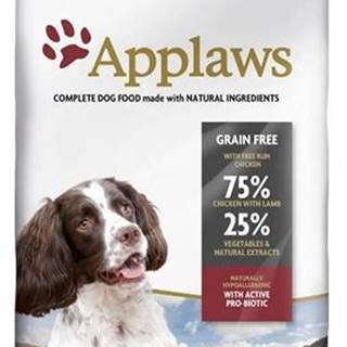 APPLAWS dog ADULT S/M breed chicken&lamb - 2kg