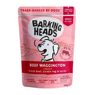 Barking Heads kapsa BEEF waggington - 300g