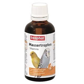 Beaphar vtáci Mausertropfen vit.  - 50ml