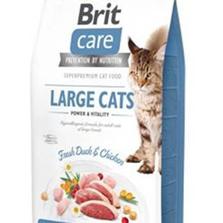 BRIT CARE cat GF  LARGE cats power/vitality - 2kg