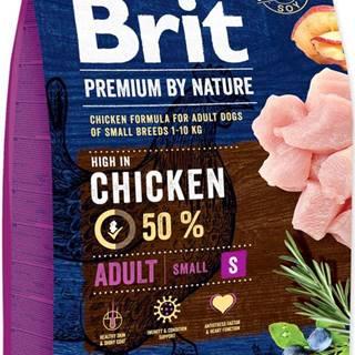 BRIT dog Premium By Nature ADULT S - 1kg