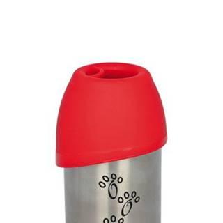 FLAŠA kovová s plastovou miskou - 300ml