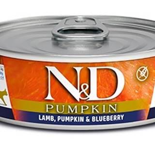 N&D cat  konz. PUMPKIN lamb/BLUEBERRY - 12 x 80g