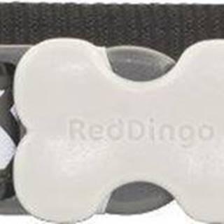 Obojek RD reflective ZIGGY/black - 1,2/20-32cm