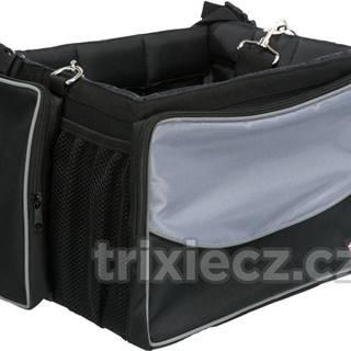 Prepravné FRONT-BOX na KOLO sivá - 41x26x26cm/7kg