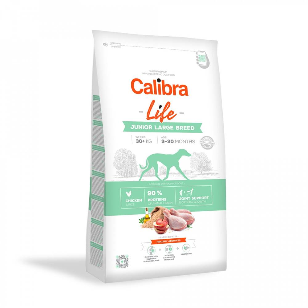 Calibra CALIBRA dog LIFE JUNIOR large CHICKEN - 2,5kg