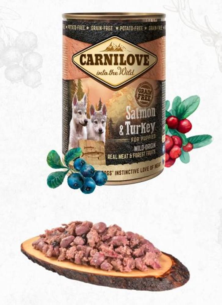 Carnilove CARNILOVE  konz.  PUPPY SALMON/turkey - 400g