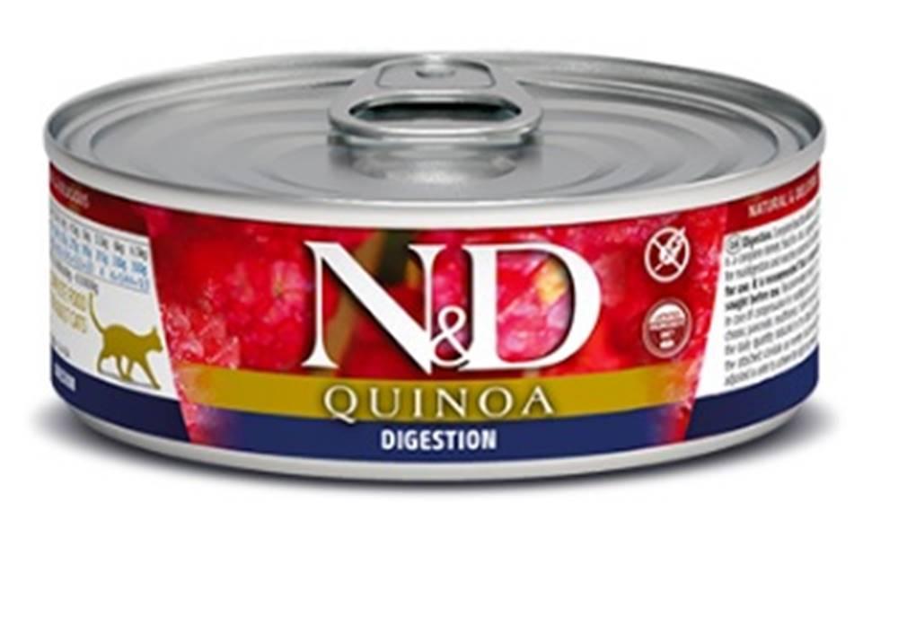 Natural&Delicious N&D cat  konz. QUINOA digestion - 12 x 80g