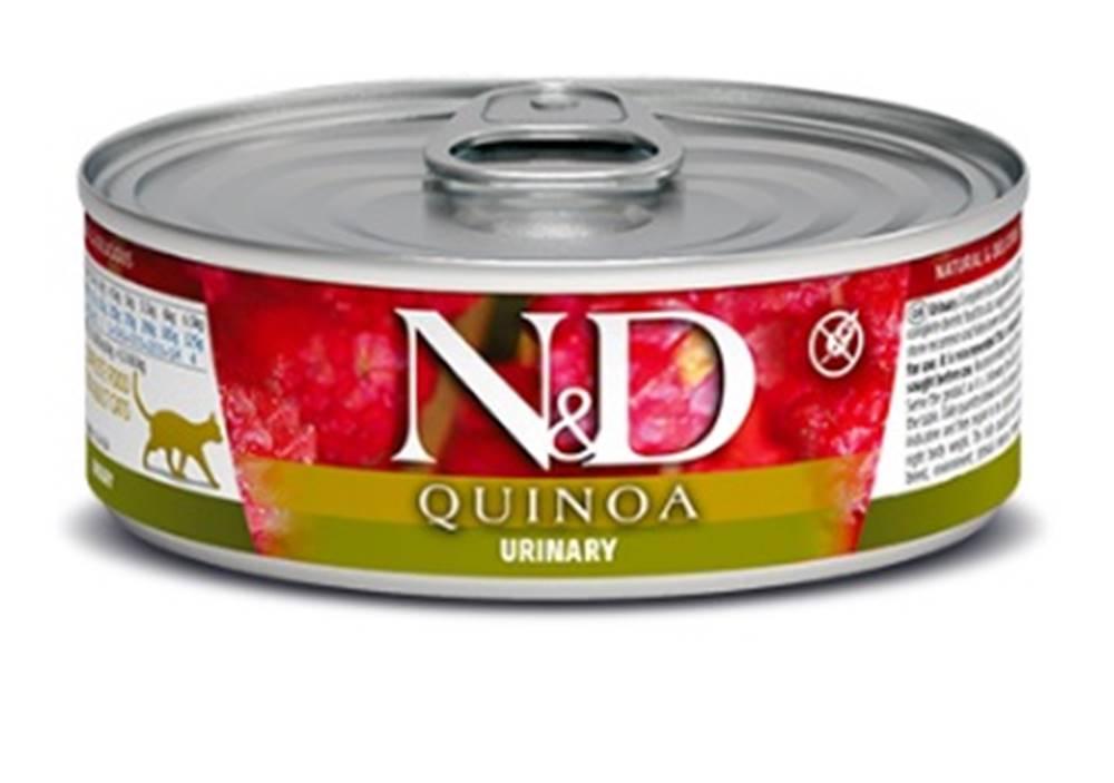 Natural&Delicious N&D cat  konz.  QUINOA urinary - 12 x 80g