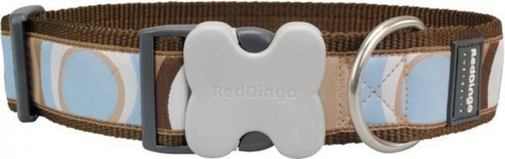 Red-dingo Obojok RD Circadelic Brown - 1,2/20-32cm