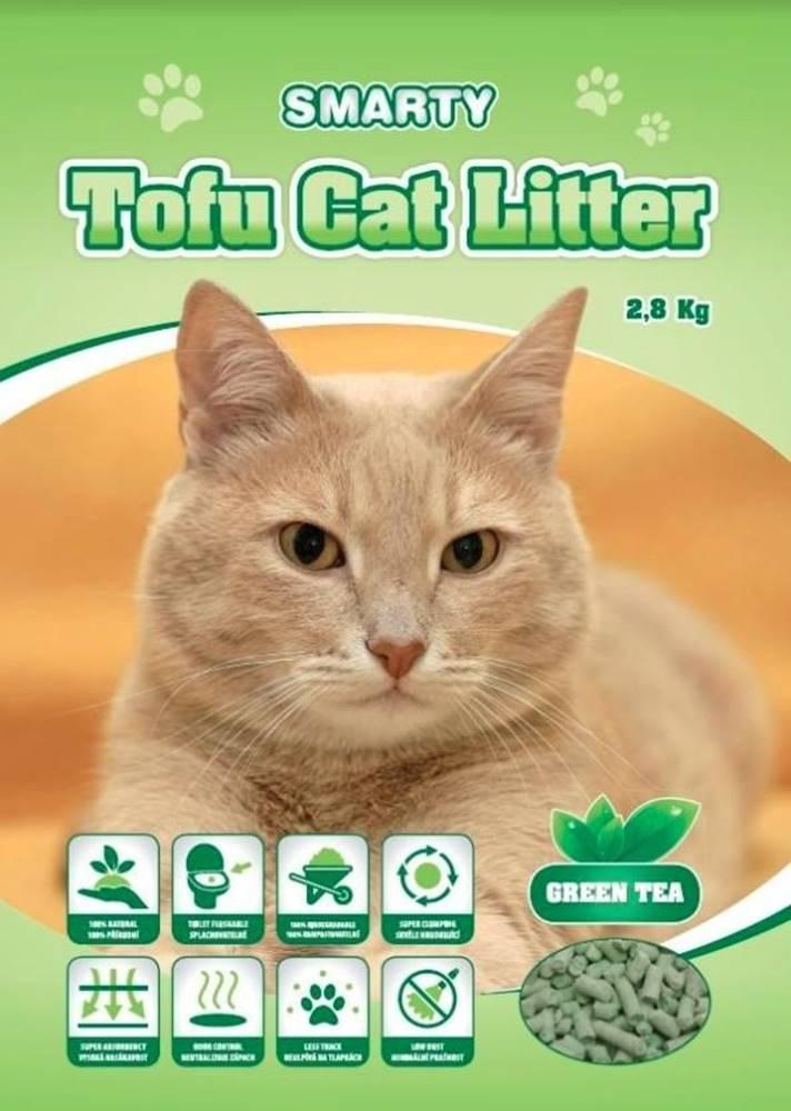 (bez zařazení) Podstielka TOFU zelený čaj - 6l / 2,8kg