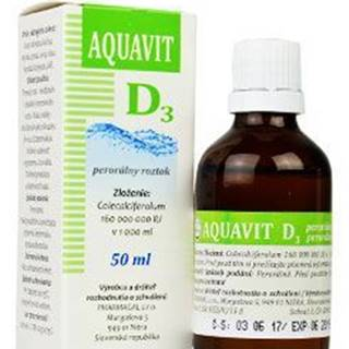 Aquavit D3 sol auv 50ml