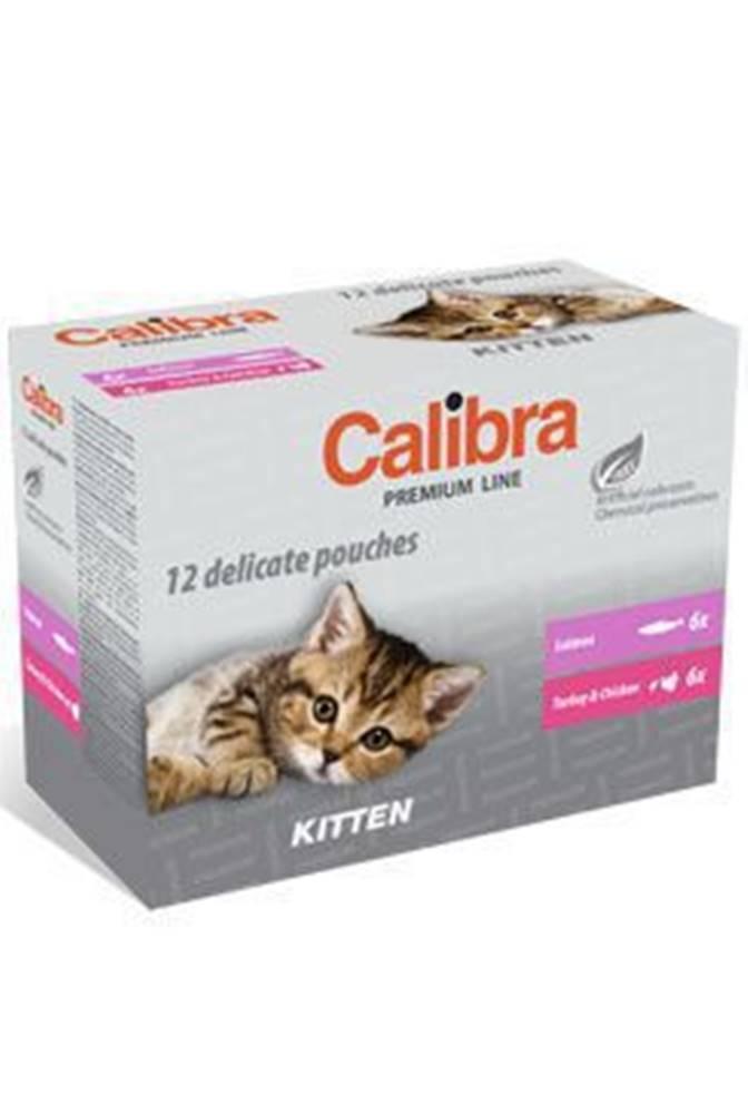 Calibra Calibra Cat  kapsa Premium Kitten multipack 12x100g