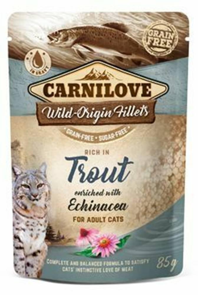 Carnilove Carnilove Cat Pouch Trout Enriched & Echinacea 85g