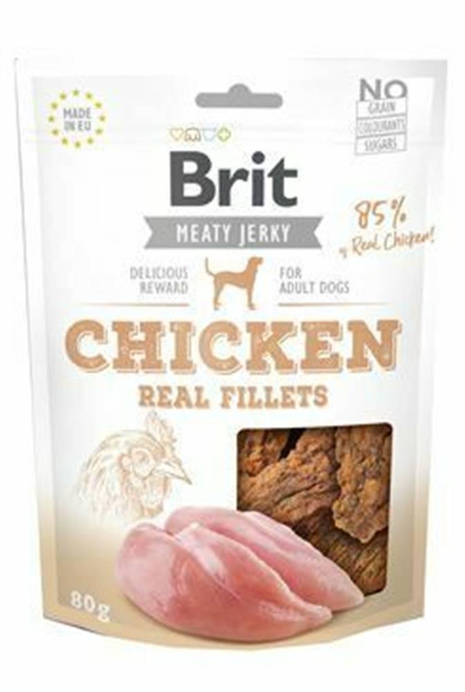 Brit Brit Jerky Chicken Fillets 80g