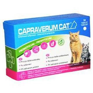 CAPRAVERUM CAT probioticum-prebioticum 30tbl