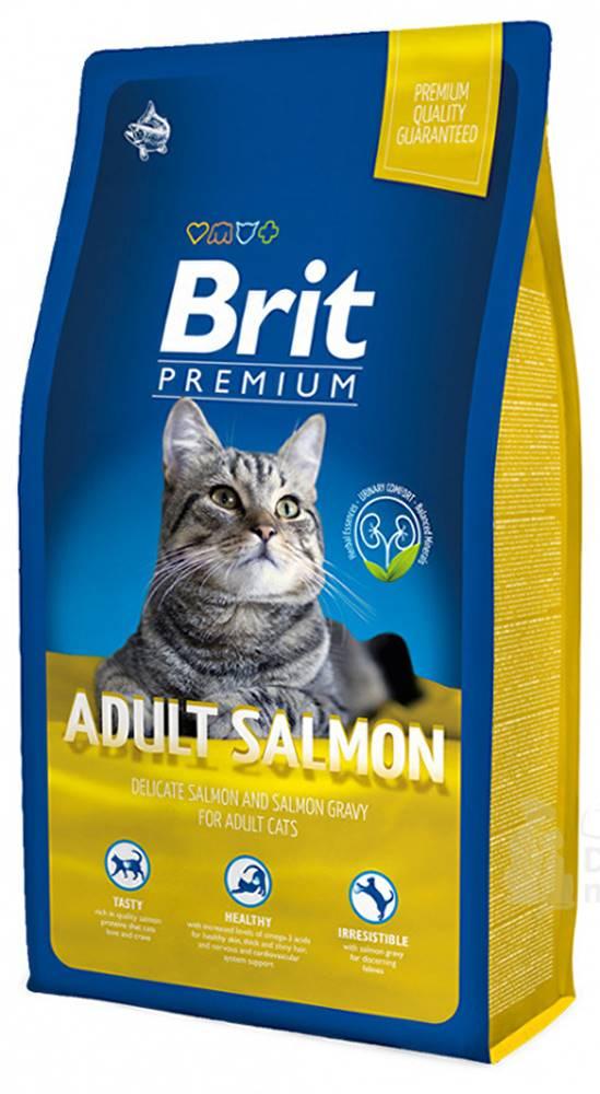 Brit Brit Premium Cat Adult Salmon 8kg