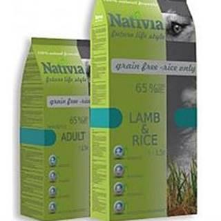 Nativia Dog Adult Lamb&Rice 3kg