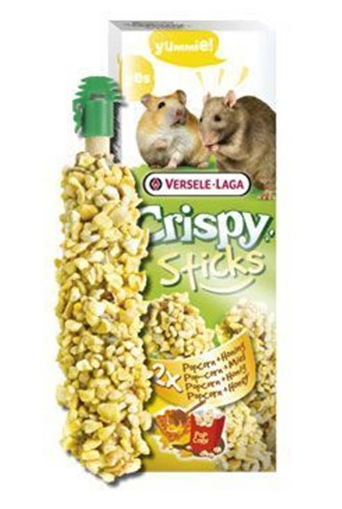 VERSELE-LAGA VL Crispy Sticks pre škrečky / potkan Kukurica / med 110g