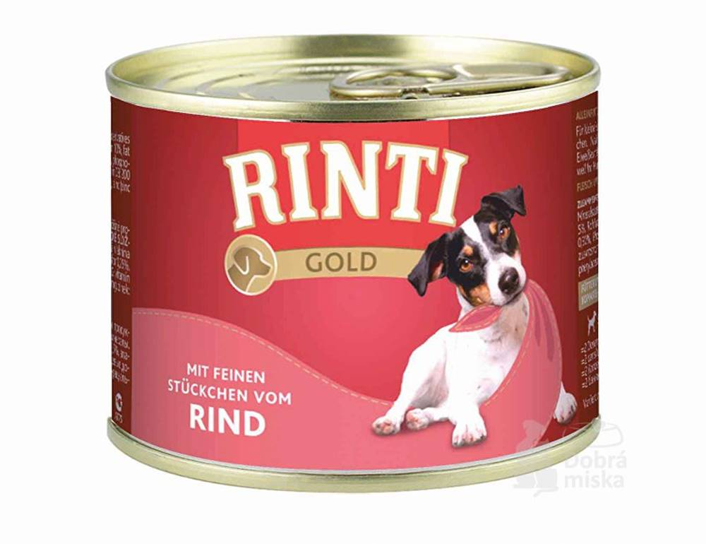 Rinti Rinti Gold konzerva hovädzie 185g