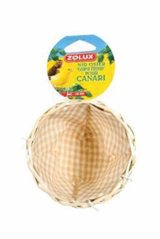 Zolux Hnízdo pro ptáky do klece proutěné 11cm Zolux