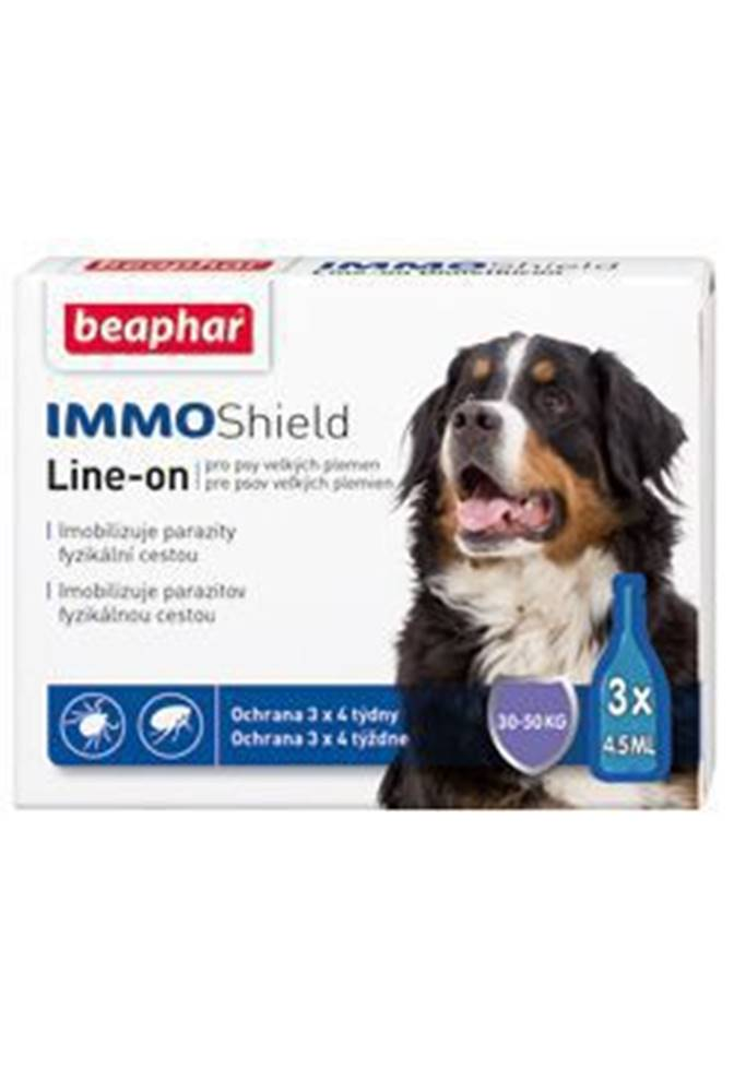 Beaphar Line-on IMMO Shield pes L 3x4,5ml