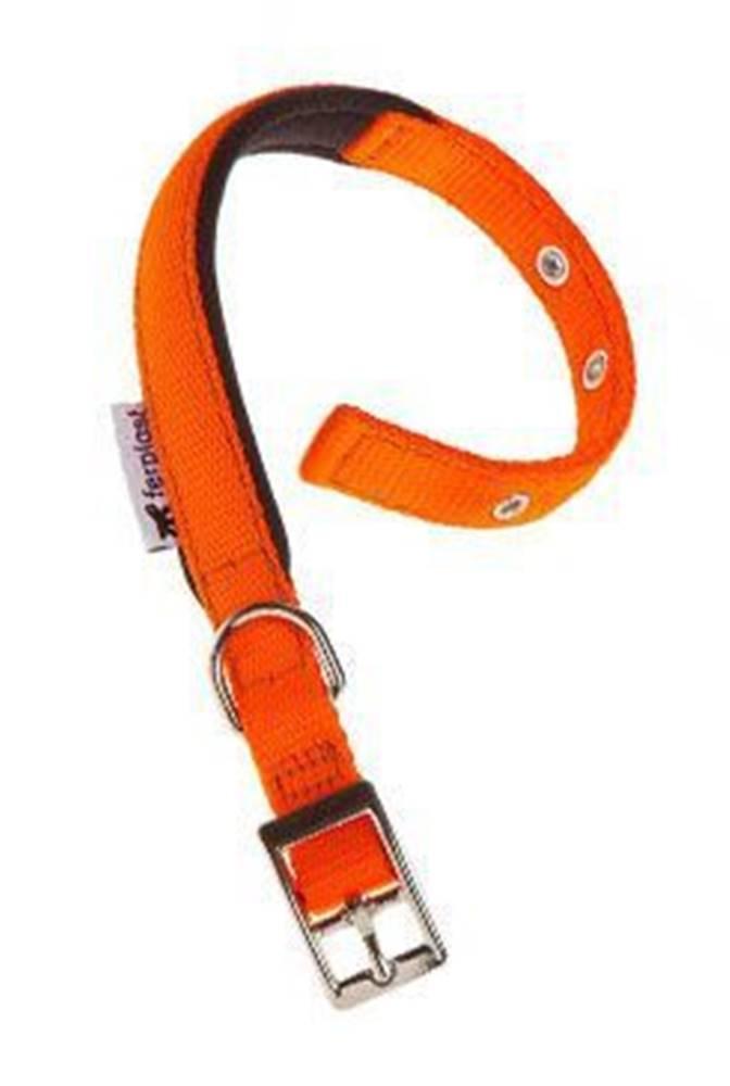 Ferplast Obojek nylon DAYTONA C 35cmx15mm oranžový FP 1ks