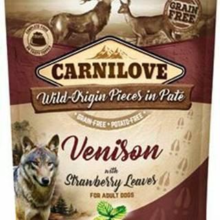 Carnilove Dog Pouch Paté Venison & Strawberry 300g