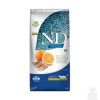 N&D OCEAN CAT NEUTERED Adult Herring & Orange 5kg