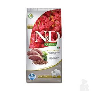 N&D Quinoa DOG Neutered M/L Duck&Broccoli&Asp. 12kg