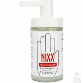 Nixx hygienický gél na ruky s dávkovač., Ike sklo200ml