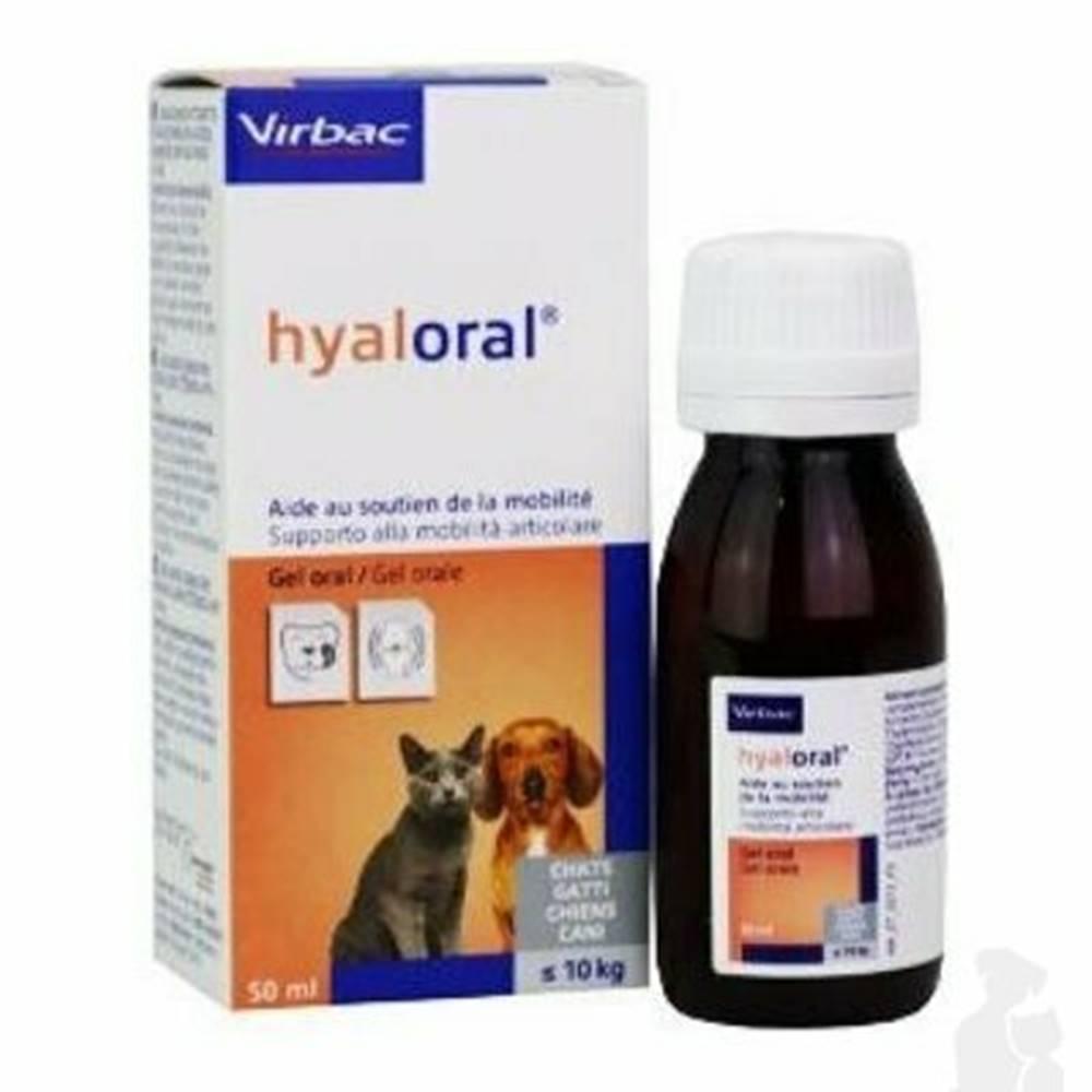 Virbac Hyaloral gél pre mačky a malých psov 50ml