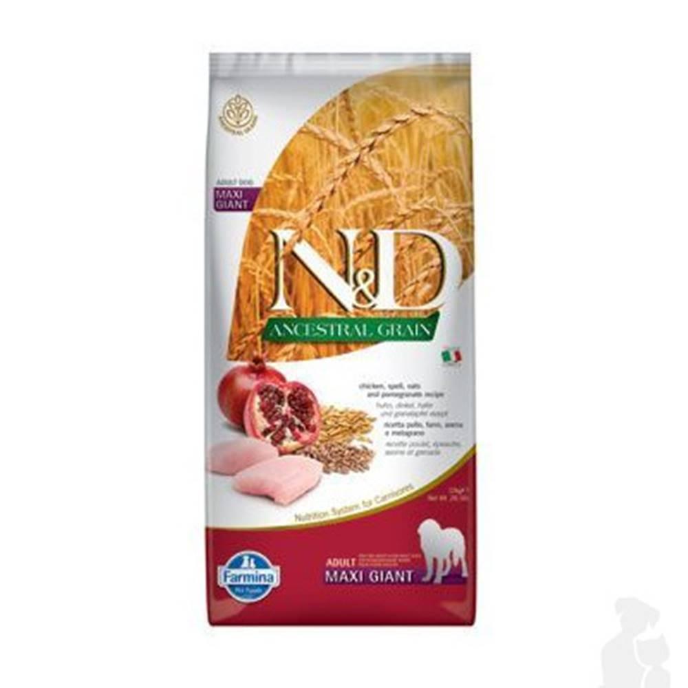 N&D (Farmina Pet Foods) N&D LG DOG Adult Giant Chicken & Pomegranate 12kg