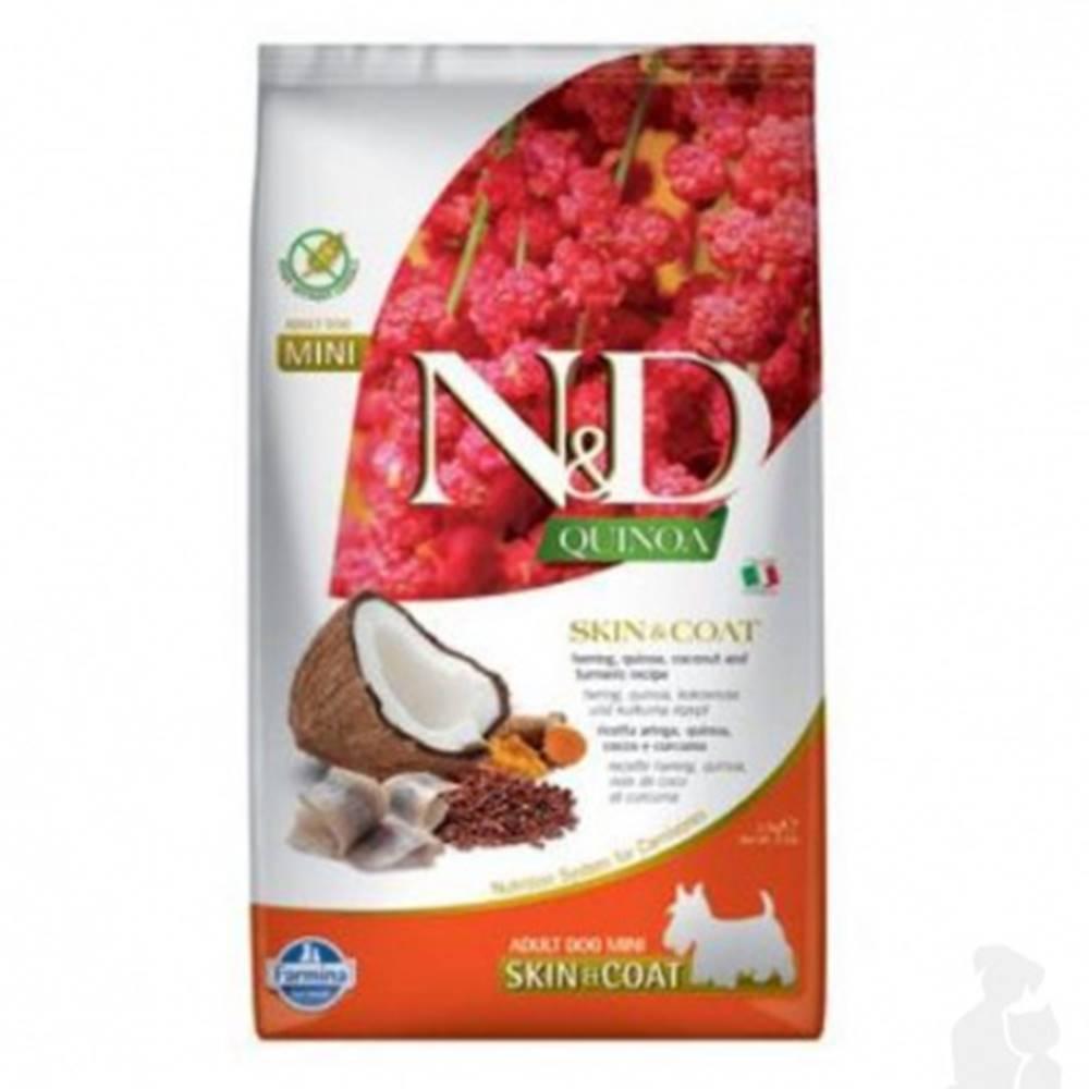 N&D (Farmina Pet Foods) N&D Quinoa DOG Skin & Coat Herring &Coconut Mini 2,5kg