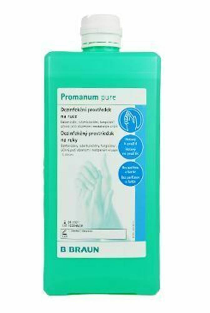 BBRAUN Promanum Pure 1000ml dezinfekcia a hygiena rúk
