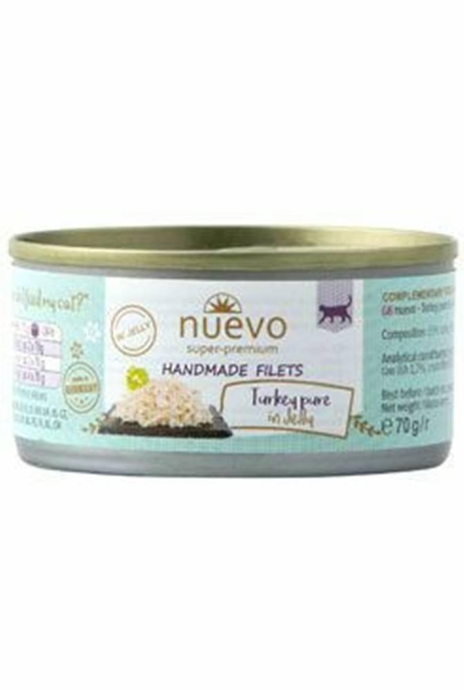 Nuevo Nuevo mačka Handmade Pure morka v želé konz. 70g