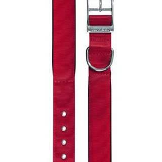 Obojek nylon DAYTONA C 45cmx25mm červený FP 1ks