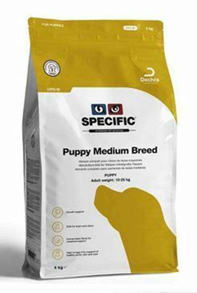 Specific Specific CPD-M Puppy Medium Breed 4kg pes