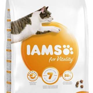 IAMS cat  SENIOR 7+ chicken - 800g