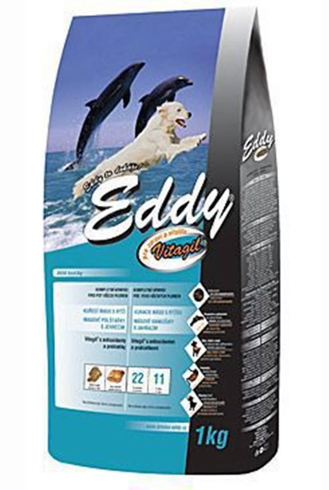 EDDY EDDY Adult All Breed kuracie vankúšiky s jahňacím 1kg