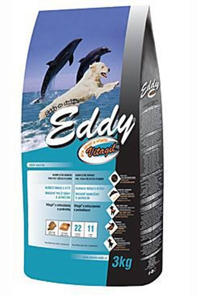 EDDY EDDY Adult All Breed kuracie vankúšiky s jahňacím 3kg