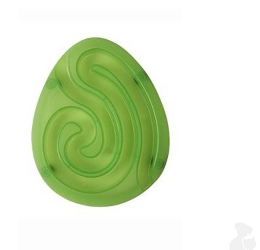 KRUUSE Miska bludiště Dog Maze Mini sv.zelená 1ks Kruuse