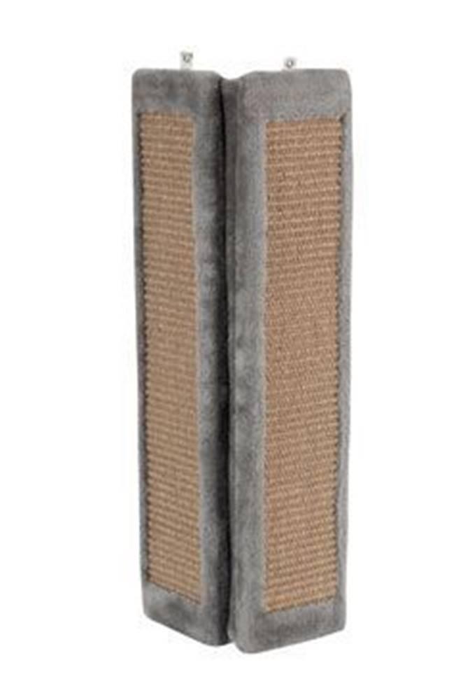 Zolux Škrabadlo na stěnu rohové šedá 58cm Zolux