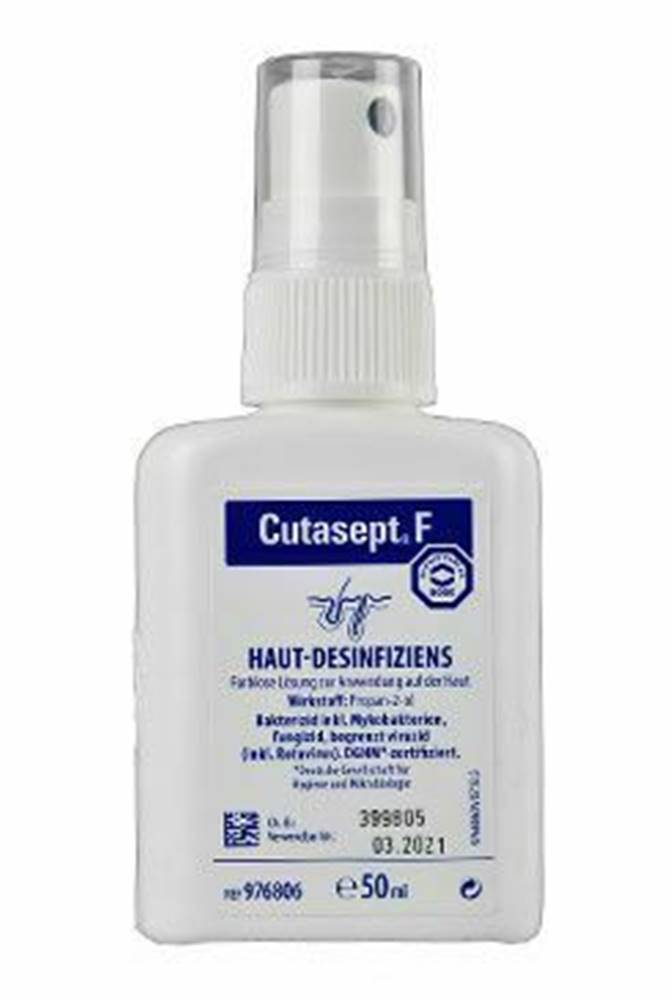 BODE Cutasept F 50ml spray dezinfekcia kože Bode