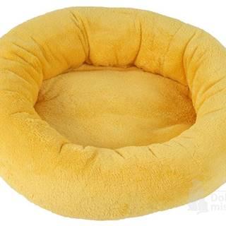 Pelech Amélie plyš kulatý 40cm  Žlutá A12 1ks