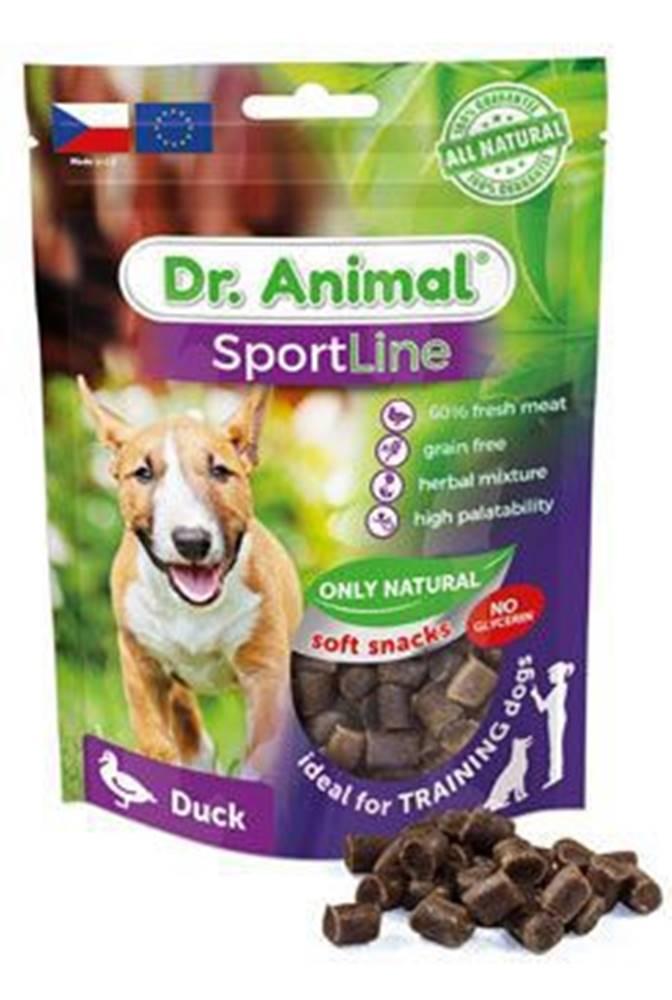 Ostatní Pochoutka Dr. Animal Sportline kachna 100g