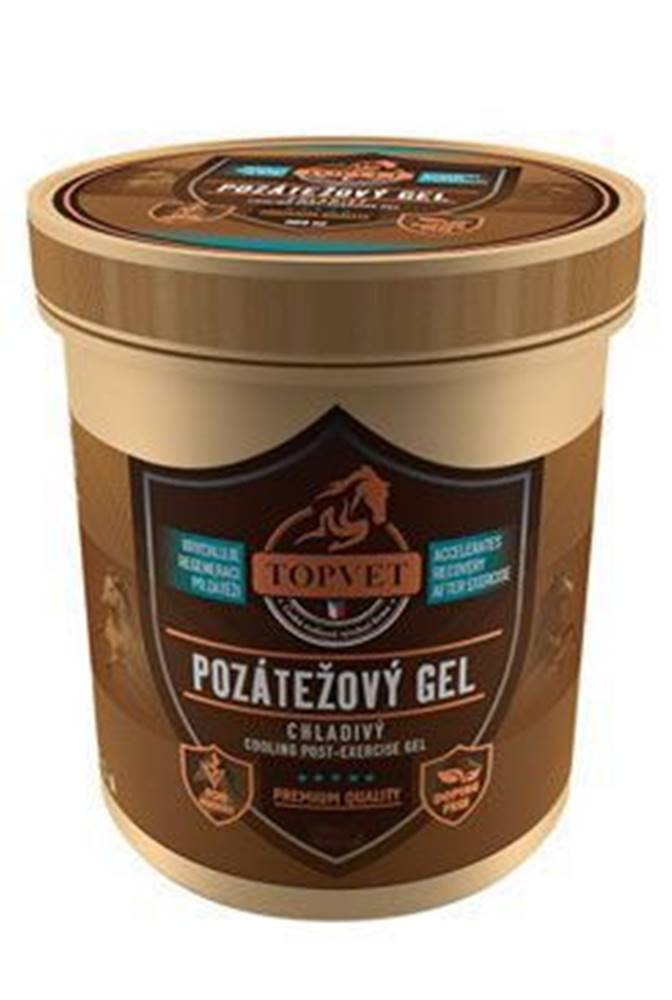 TOPVET Pozátěžový gel chladivý pro koně 500ml